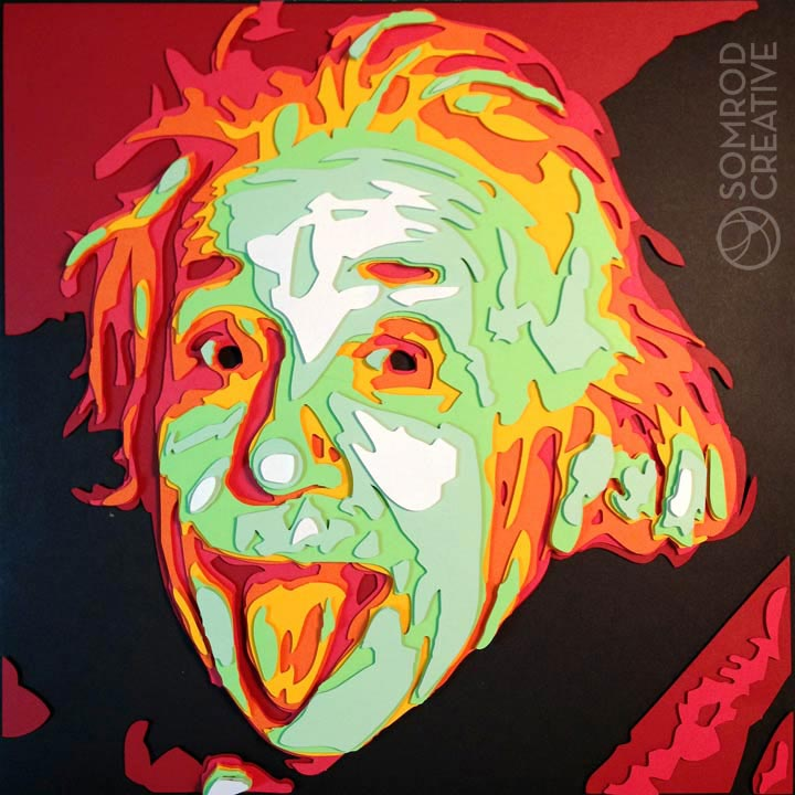 Albert Einstein Optograph