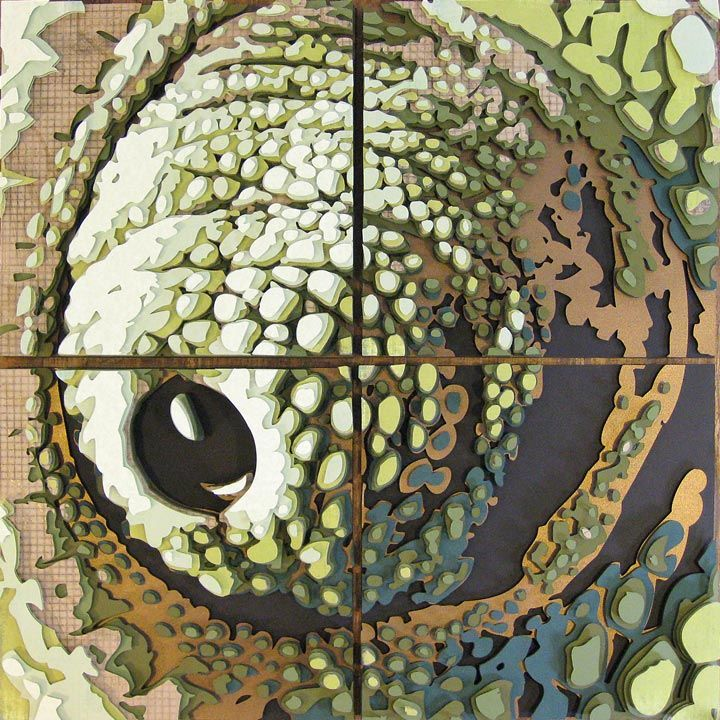 Chameleon Eye Optograph