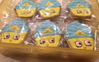 Shopkins Cupcake Queen Cookie